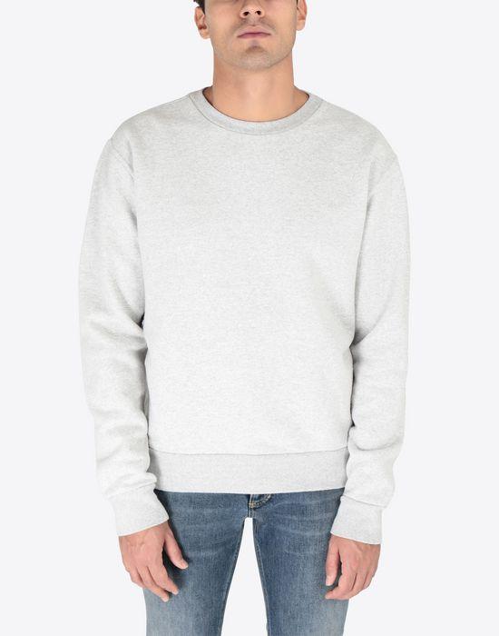 MAISON MARGIELA Transparent elbow-patched sweatshirt Sweatshirt [*** pickupInStoreShippingNotGuaranteed_info ***] r