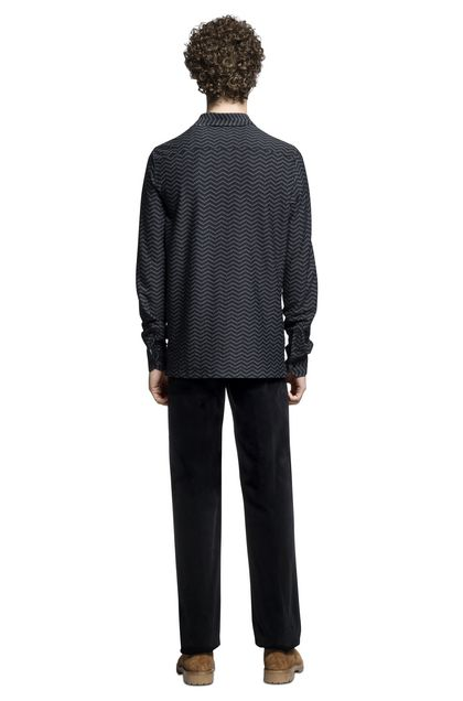 MISSONI Men's shirts Black Man - Front