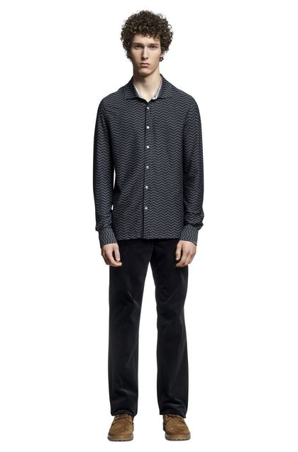 MISSONI Men's shirts Black Man - Back