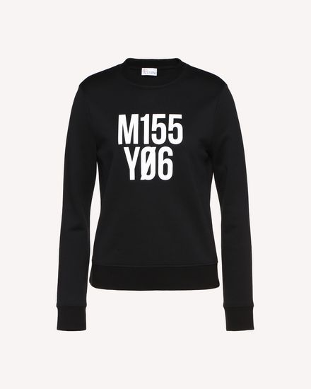 """Miss You"" print sweatshirt"