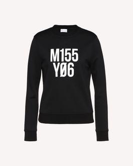 "REDValentino Sweatshirt mit ""Miss You"" als Print"