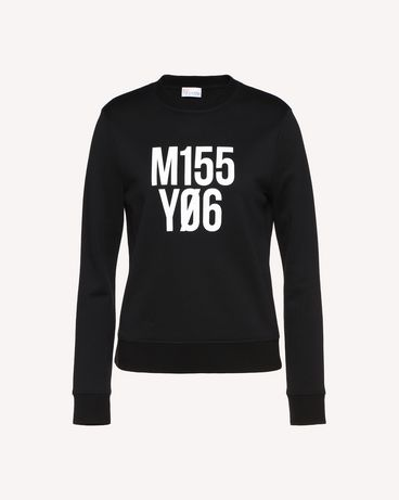 REDValentino QR0MF06S46N 0NO Sweatshirt Woman a