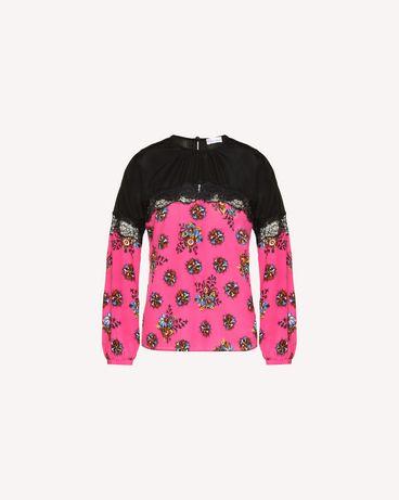 REDValentino QR0AB25542D FA9 Shirt Woman a