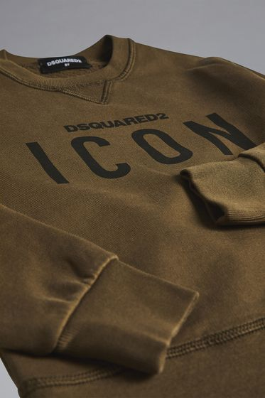 DSQUARED2 Icon Swearshirt Sweatshirt Man