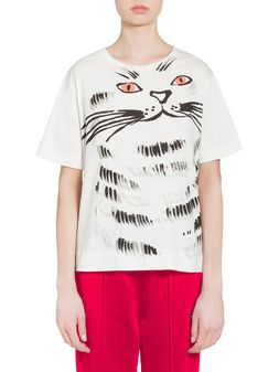 Marni T-shirt in jersey with Hop print Woman