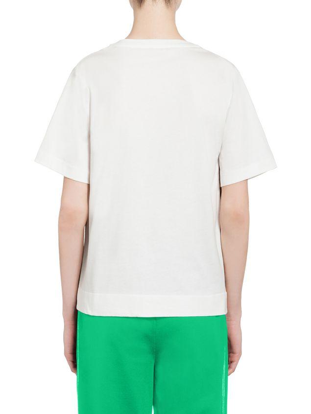 Marni T-shirt in jersey Star print Woman