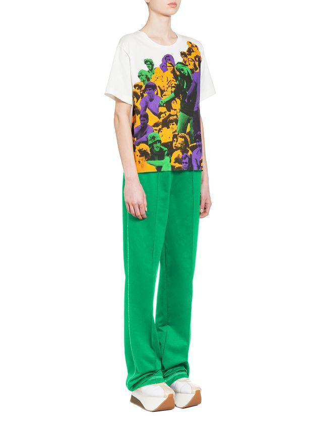 Marni T-shirt in jersey Star print Woman - 4