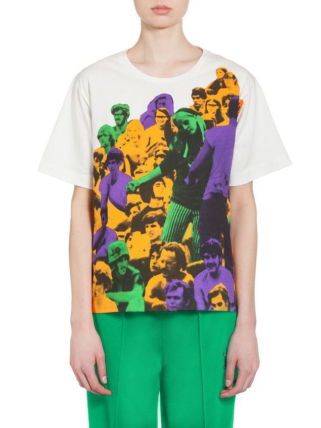 Marni T-shirt in jersey Star print Woman - 1
