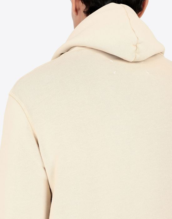 MAISON MARGIELA Sale print hooded sweatshirt Sweatshirt [*** pickupInStoreShippingNotGuaranteed_info ***] b