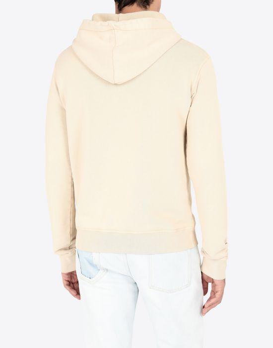 MAISON MARGIELA Sale print hooded sweatshirt Sweatshirt [*** pickupInStoreShippingNotGuaranteed_info ***] e