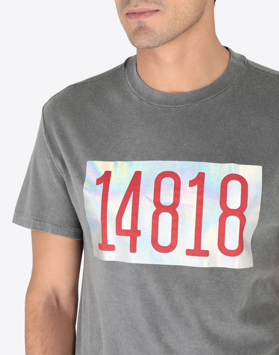 MAISON MARGIELA Graphic printed cotton T-shirt Short sleeve t-shirt [*** pickupInStoreShippingNotGuaranteed_info ***] a