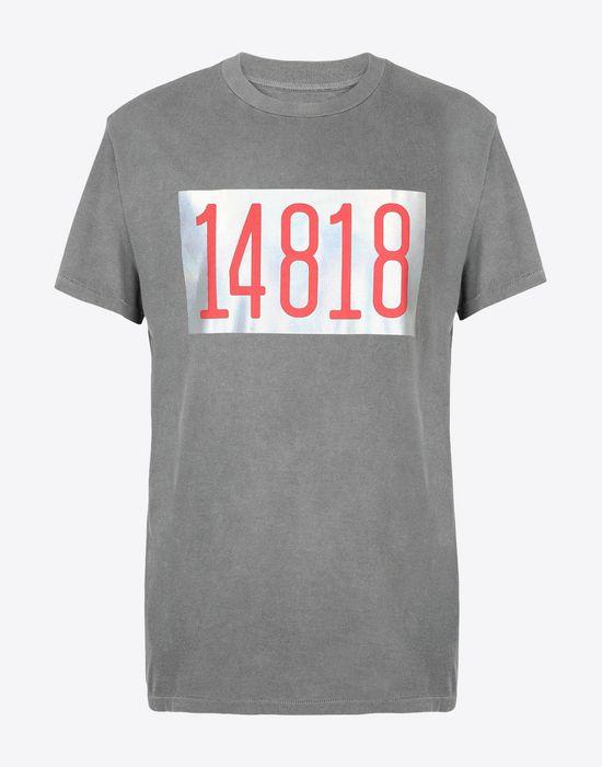 MAISON MARGIELA Graphic printed cotton T-shirt Short sleeve t-shirt [*** pickupInStoreShippingNotGuaranteed_info ***] f
