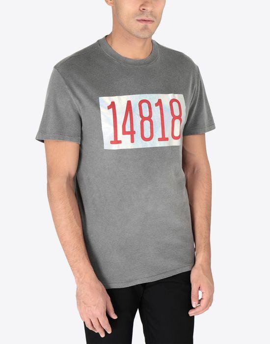 MAISON MARGIELA Graphic printed cotton T-shirt Short sleeve t-shirt [*** pickupInStoreShippingNotGuaranteed_info ***] r