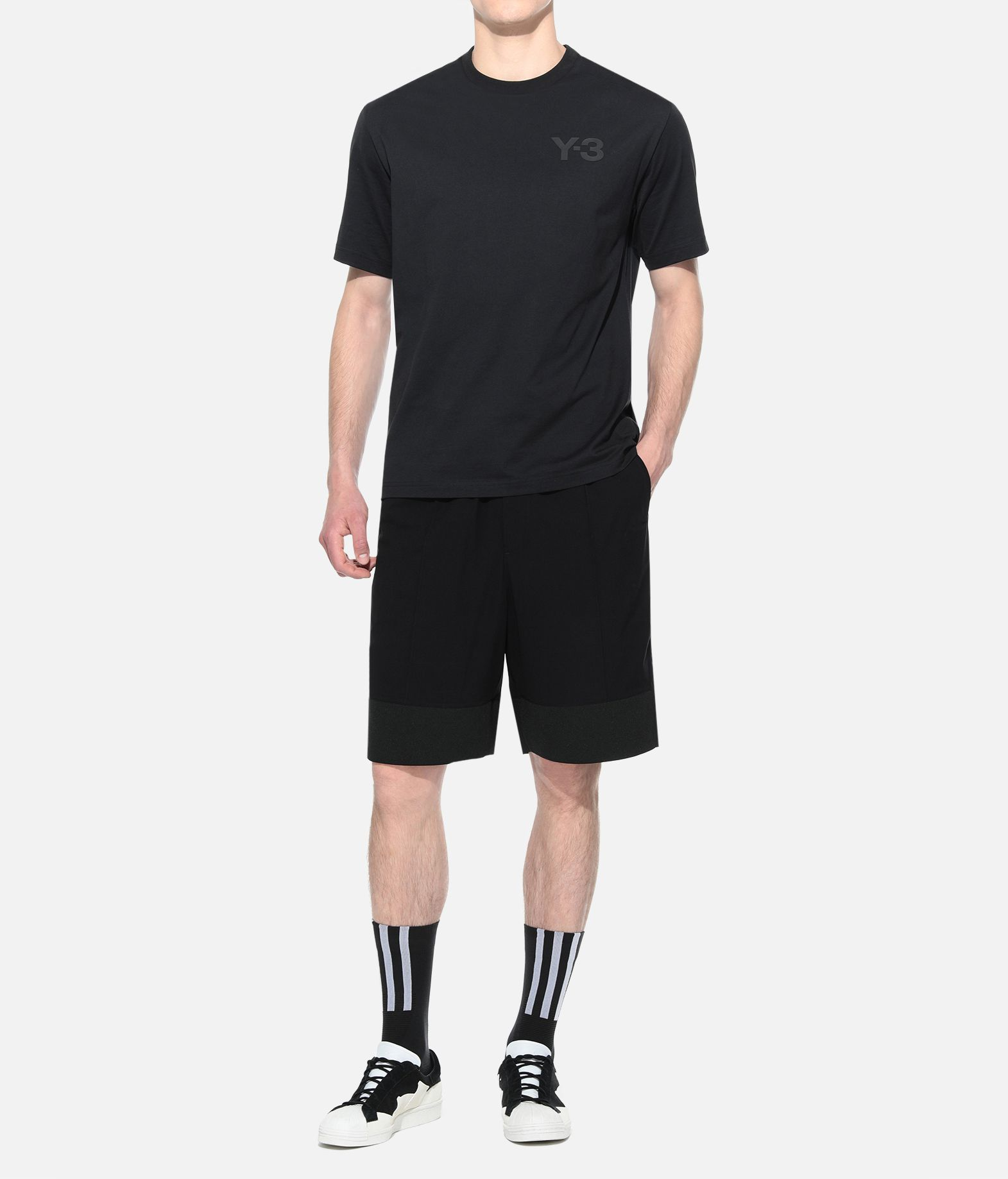 Y-3 Y-3 Logo Tee Short sleeve t-shirt Man a