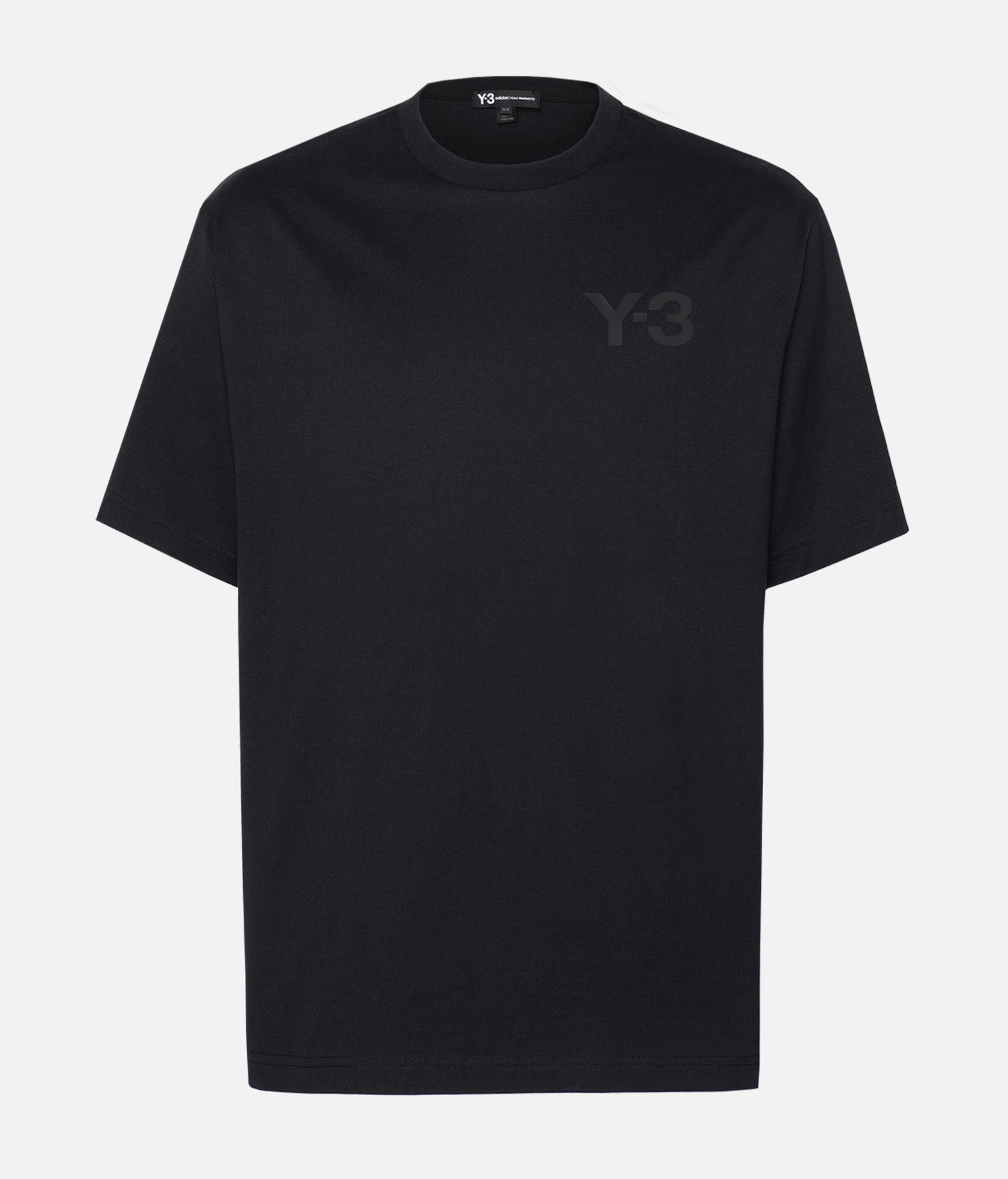 Y-3 Y-3 Logo Tee Kurzärmliges T-shirt Herren f