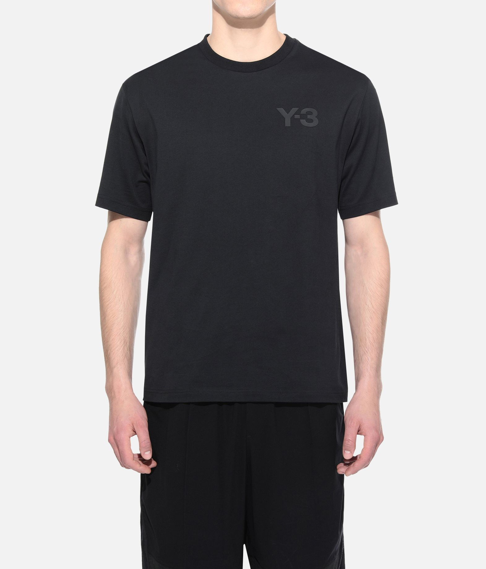 Y-3 Y-3 Logo Tee Kurzärmliges T-shirt Herren r
