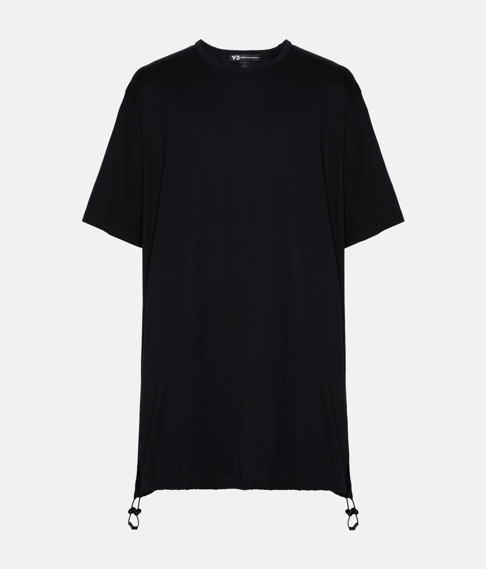 Y-3 Y-3 Drawstring Long Tee  Short sleeve t-shirt Man f