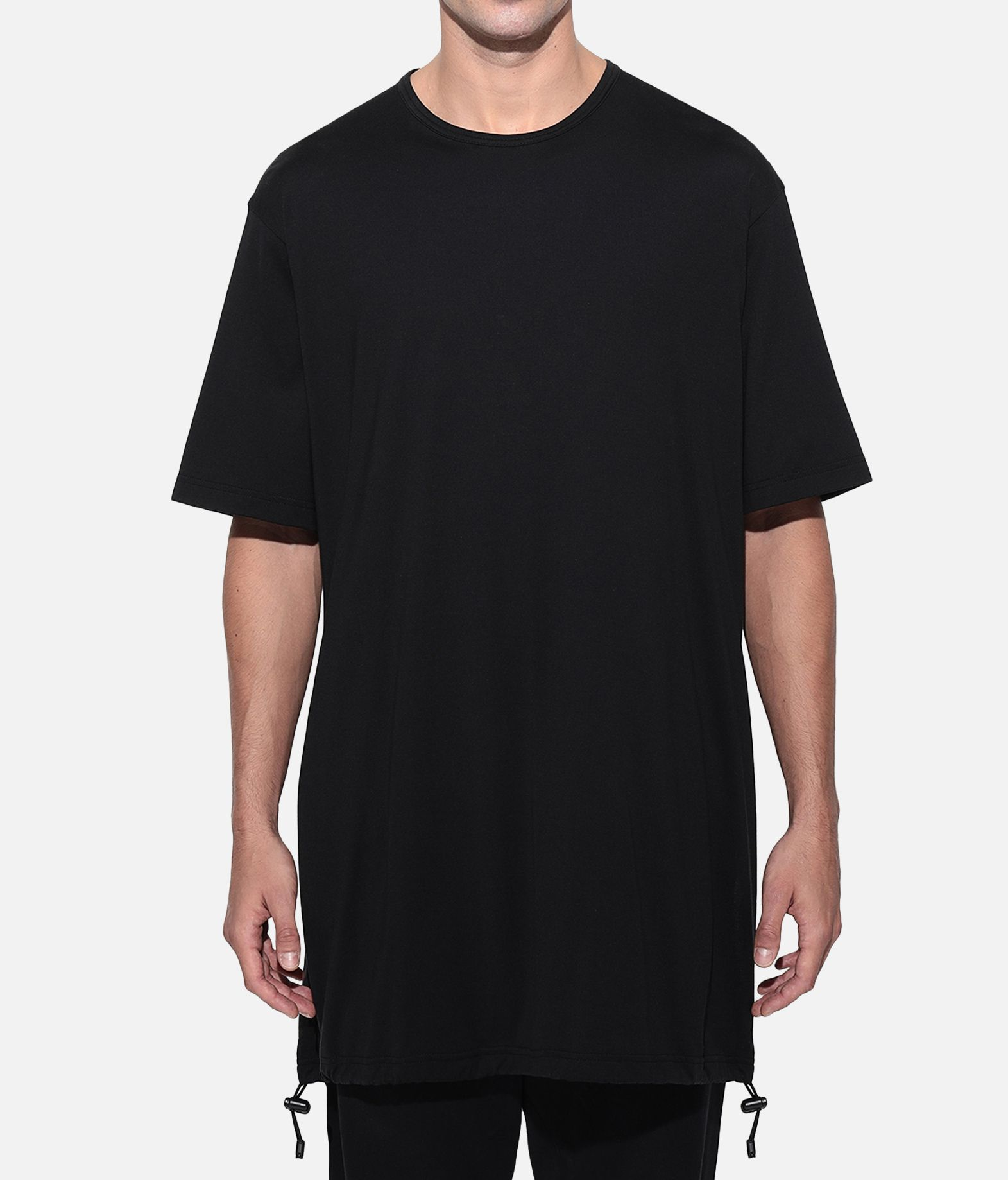 Y-3 Y-3 Drawstring Long Tee  Short sleeve t-shirt Man r