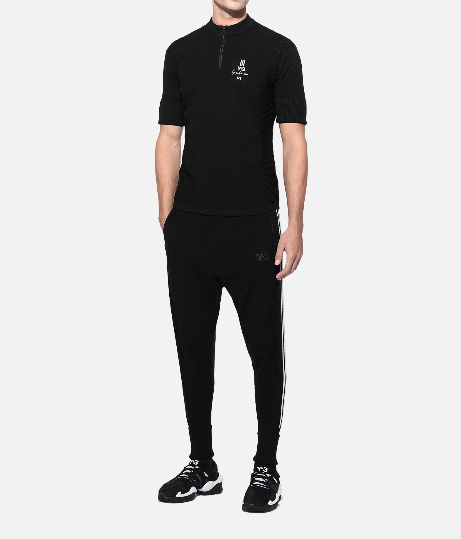 Y-3 Y-3 Knit Tee Short sleeve t-shirt Man a
