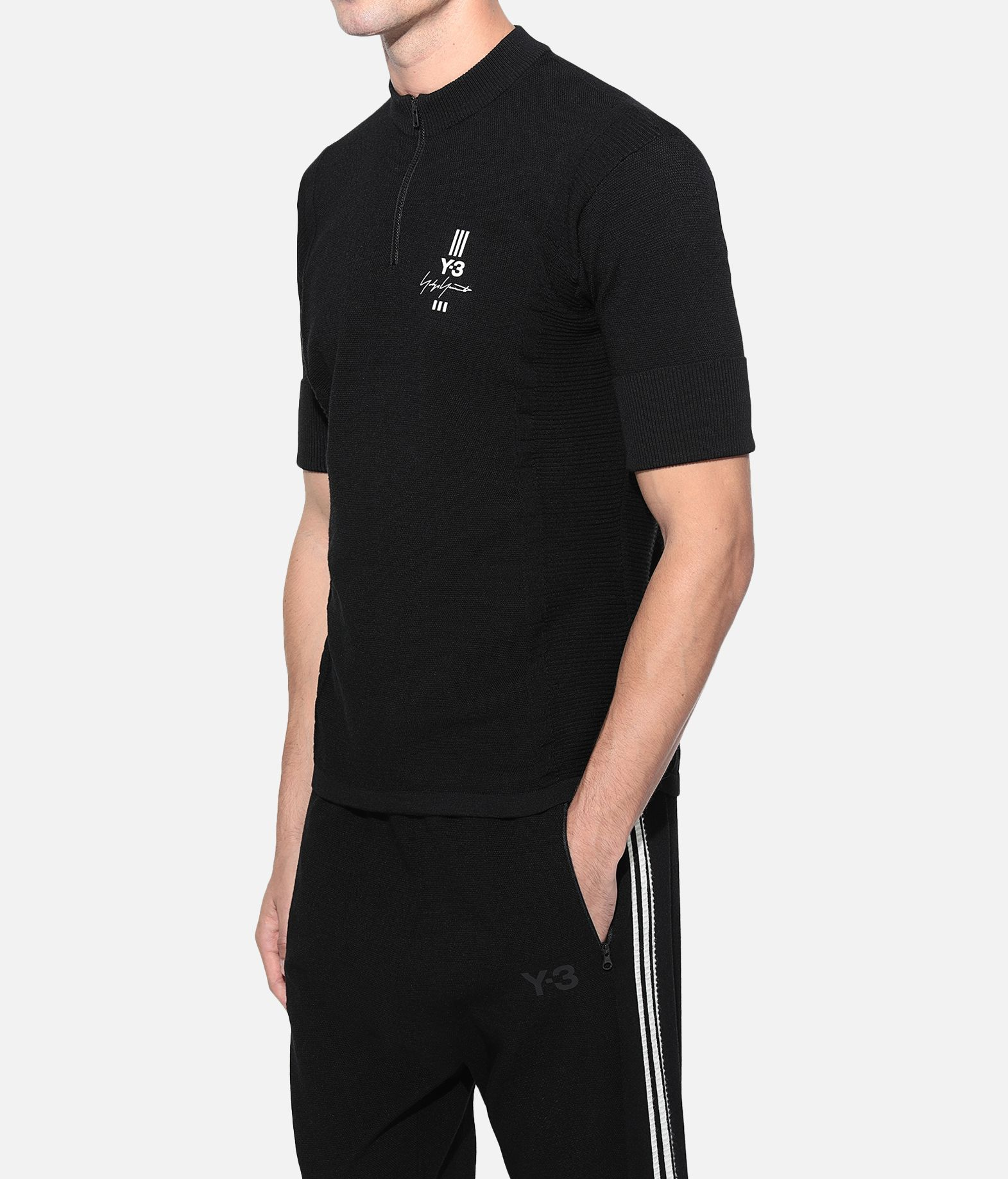 Y-3 Y-3 Knit Tee Short sleeve t-shirt Man e