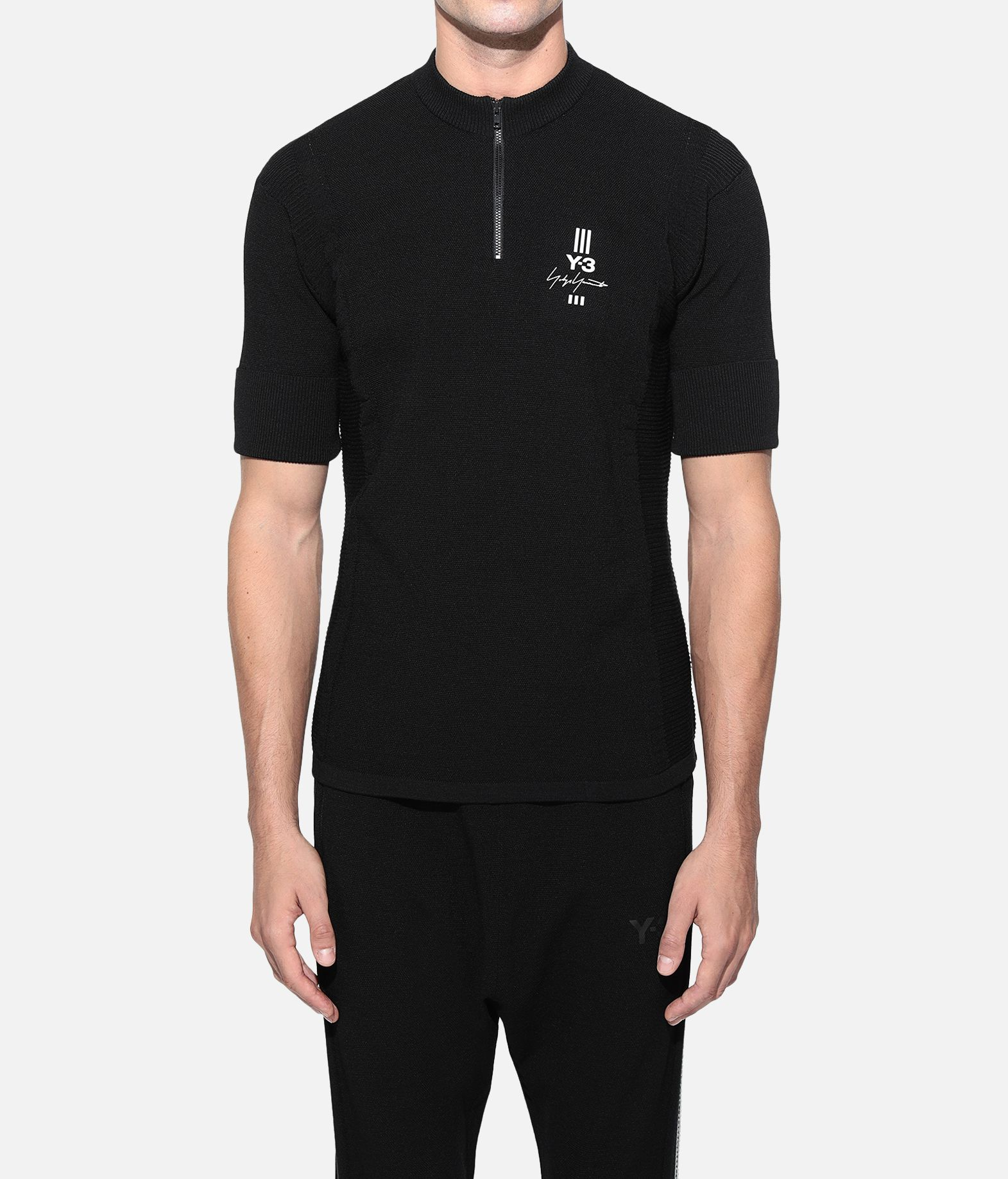 Y-3 Y-3 Knit Tee Short sleeve t-shirt Man r