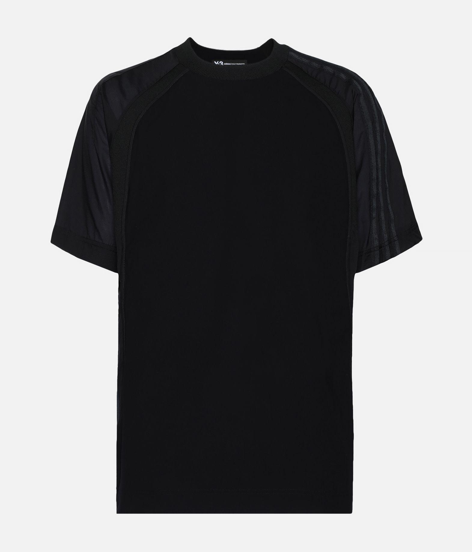 Y-3 Y-3 3-Stripes Material Mix Tee T-shirt maniche corte Uomo f