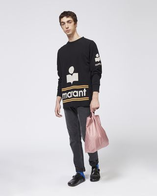 ISABEL MARANT T-SHIRT Man GIANNI logo T-shirt r