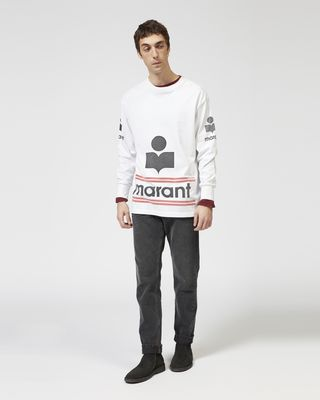 ISABEL MARANT T-SHIRT Man GIANNI logo T-shirt r