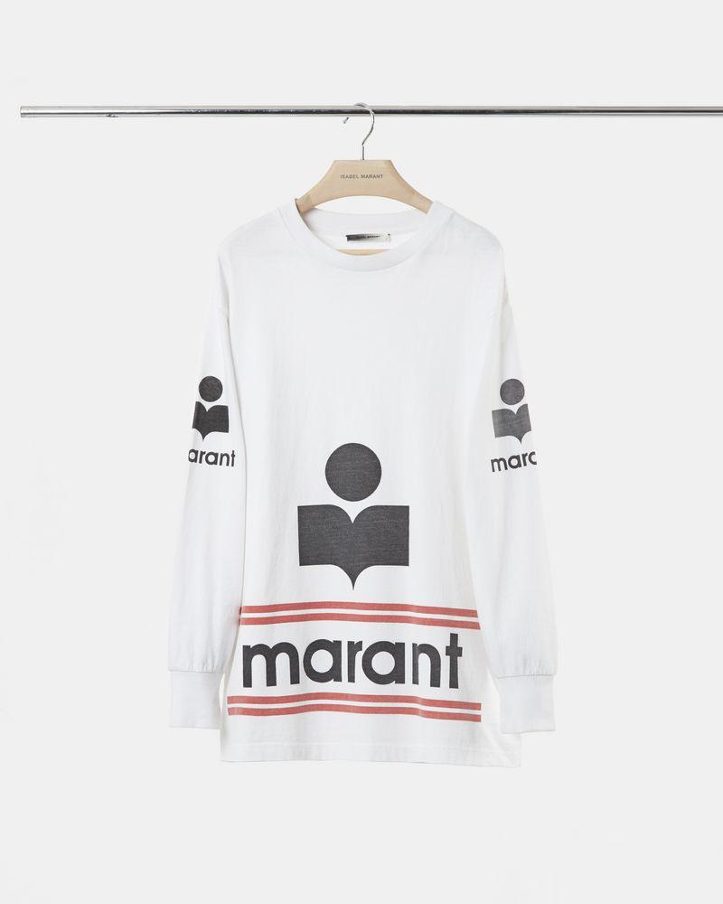 GIANNI logo T-shirt ISABEL MARANT