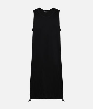 Y-3 Drawstring Long Tank Top