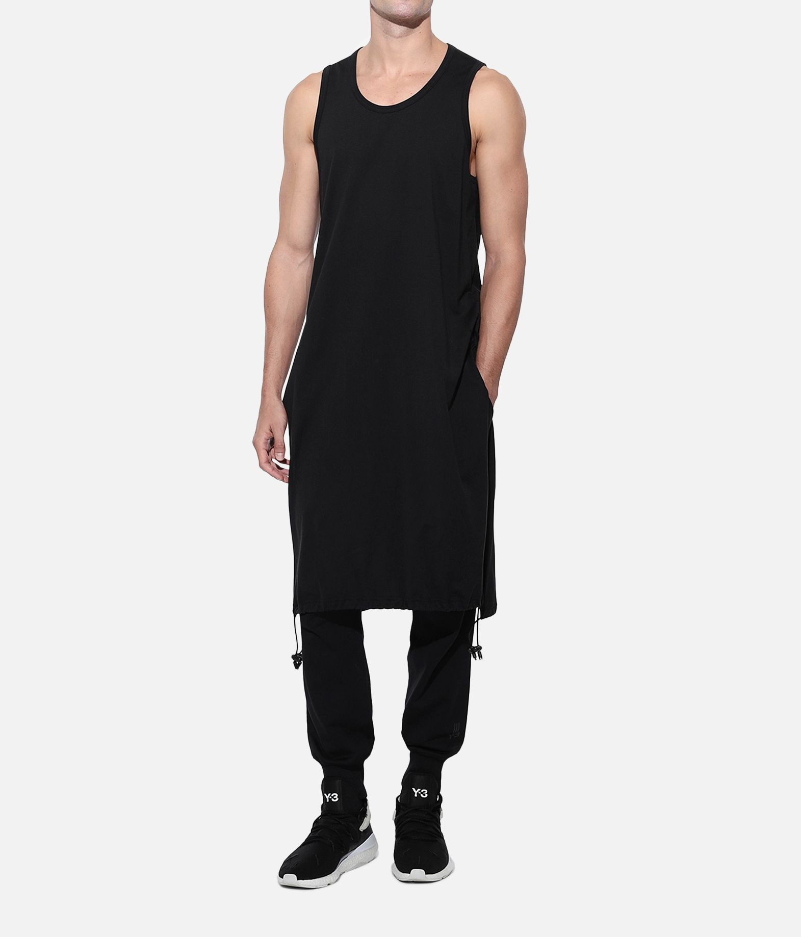 Y-3 Y-3 Drawstring Long Tank Top  Canotta Uomo a