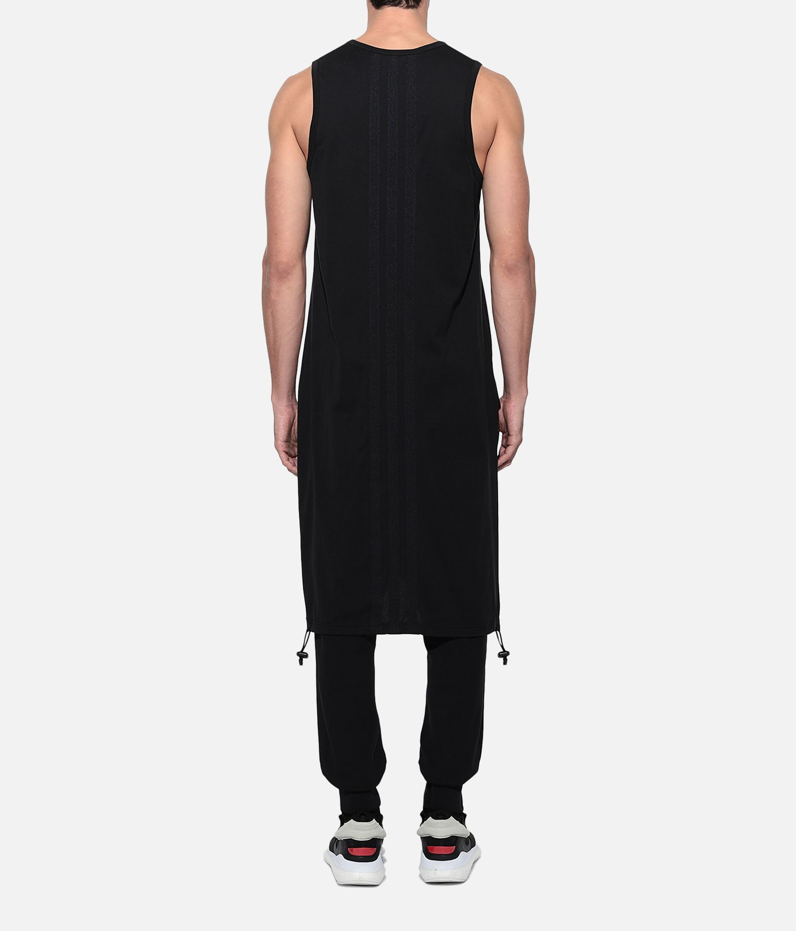 Y-3 Y-3 Drawstring Long Tank Top  Canotta Uomo d