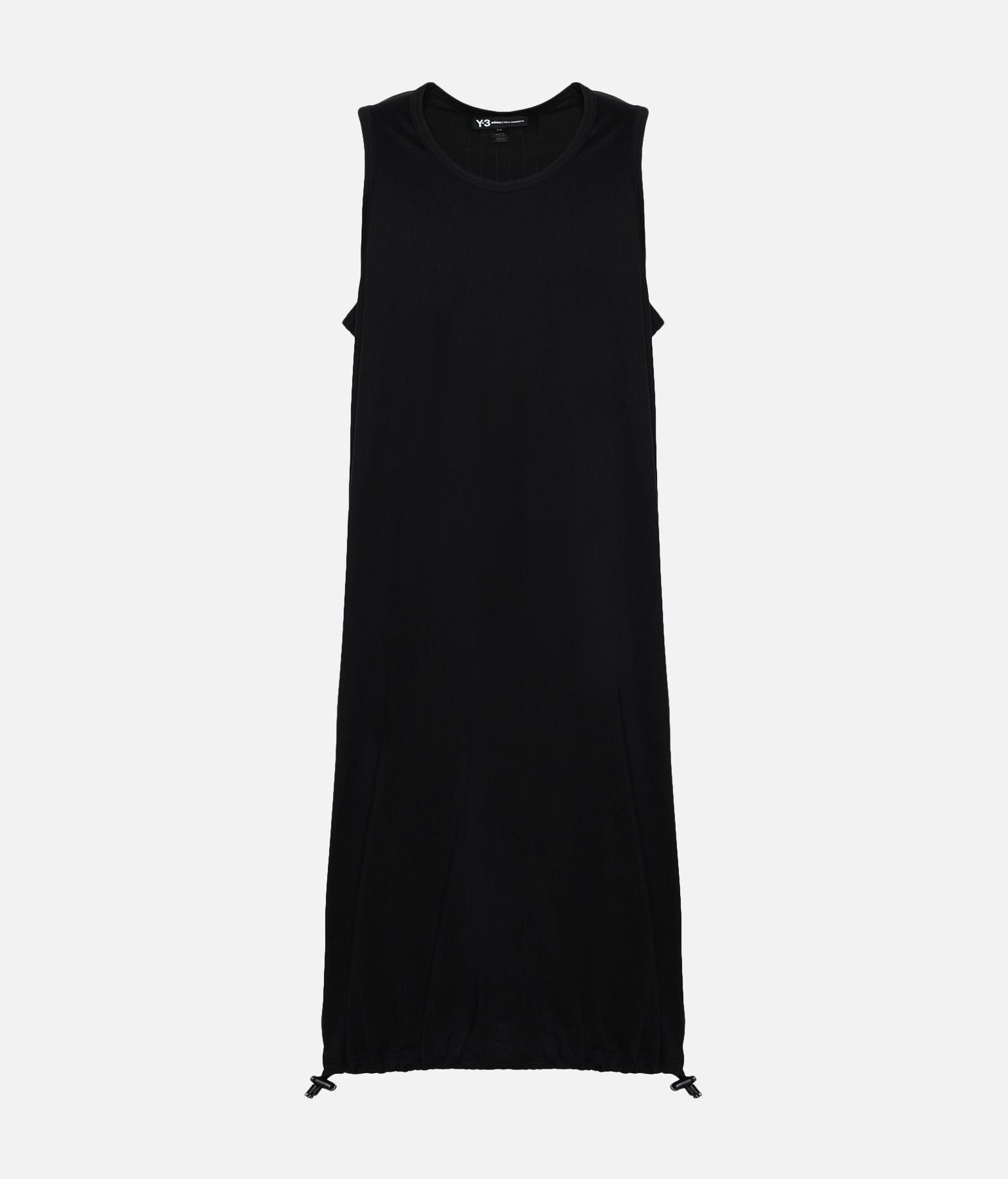 Y-3 Y-3 Drawstring Long Tank Top  Canotta Uomo f