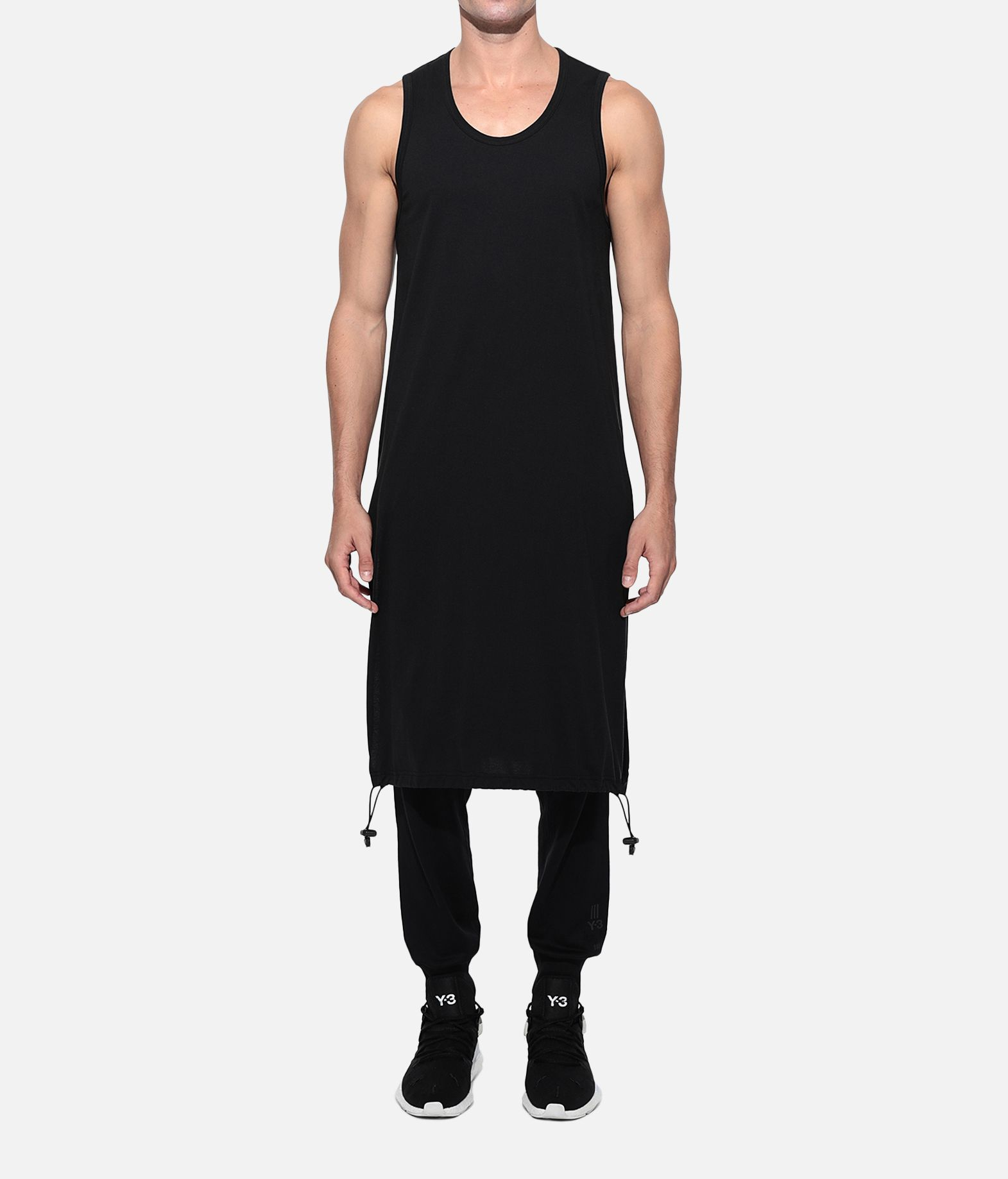 Y-3 Y-3 Drawstring Long Tank Top  Tank Man r