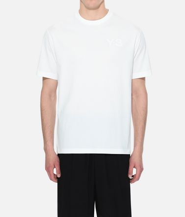 Y-3 Short sleeve t-shirt Man Y-3 Logo Tee r