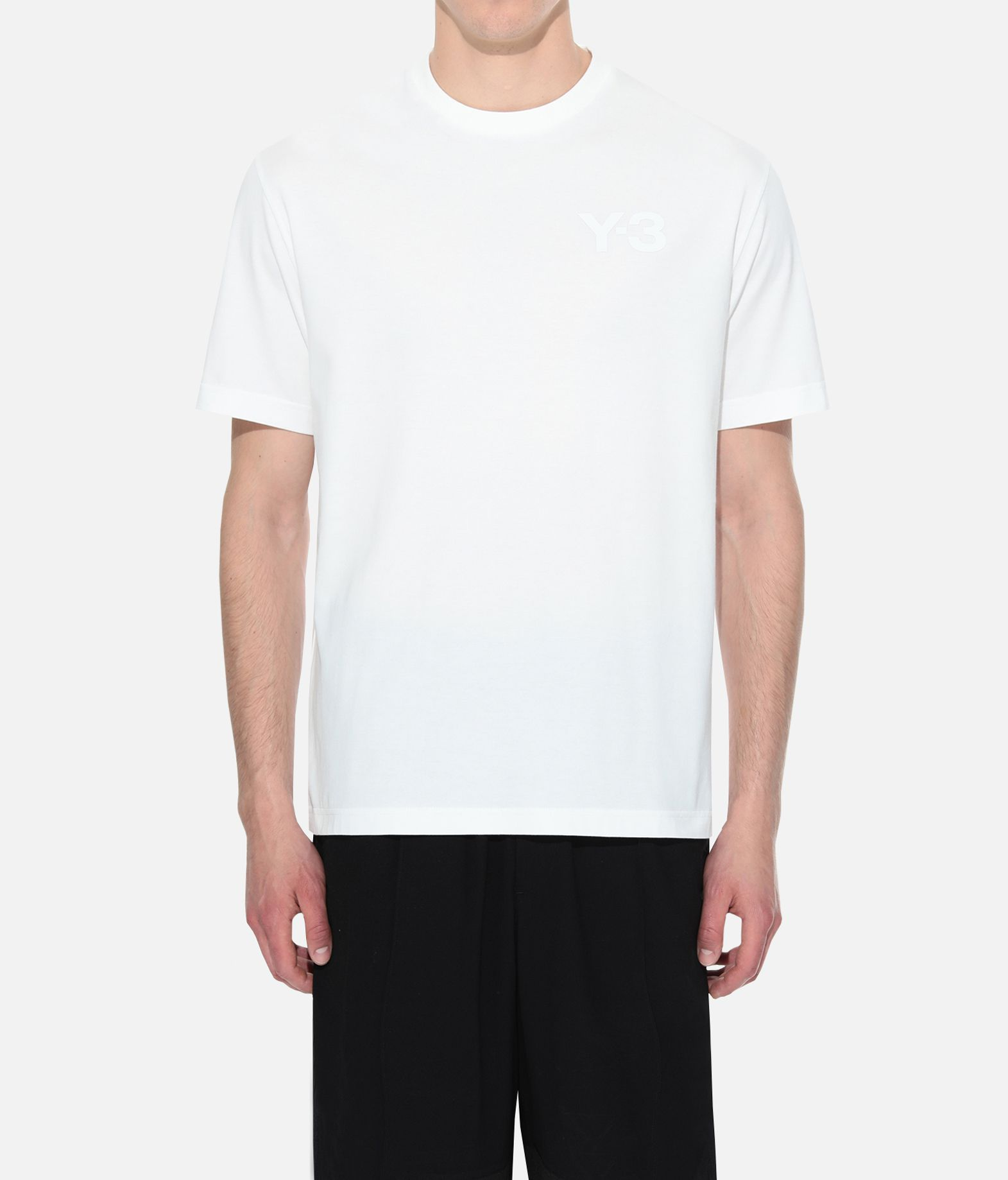 Y-3 Y-3 Logo Tee Short sleeve t-shirt Man r