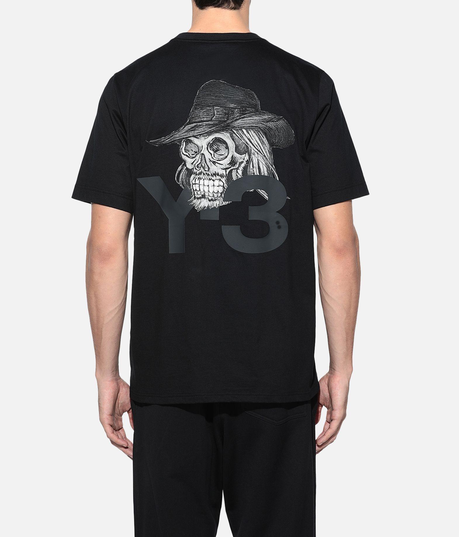 Y-3 Y-3 Yohji Skull Tee Short sleeve t-shirt Man d