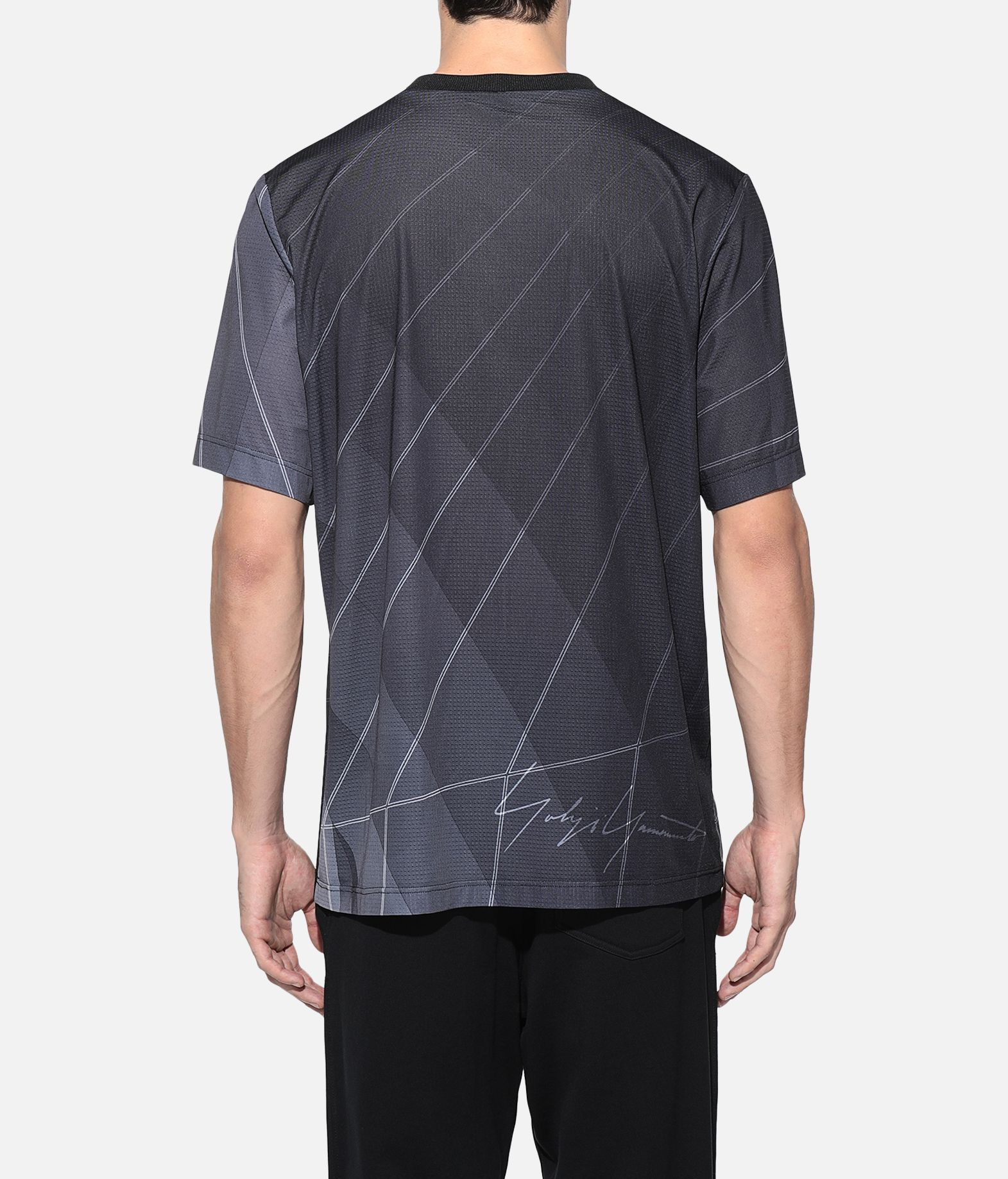 Y-3 Y-3 AOP Football Shirt Short sleeve t-shirt Man d
