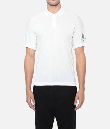 Y-3 Поло Для Мужчин Y-3 New Classic Polo Shirt  r
