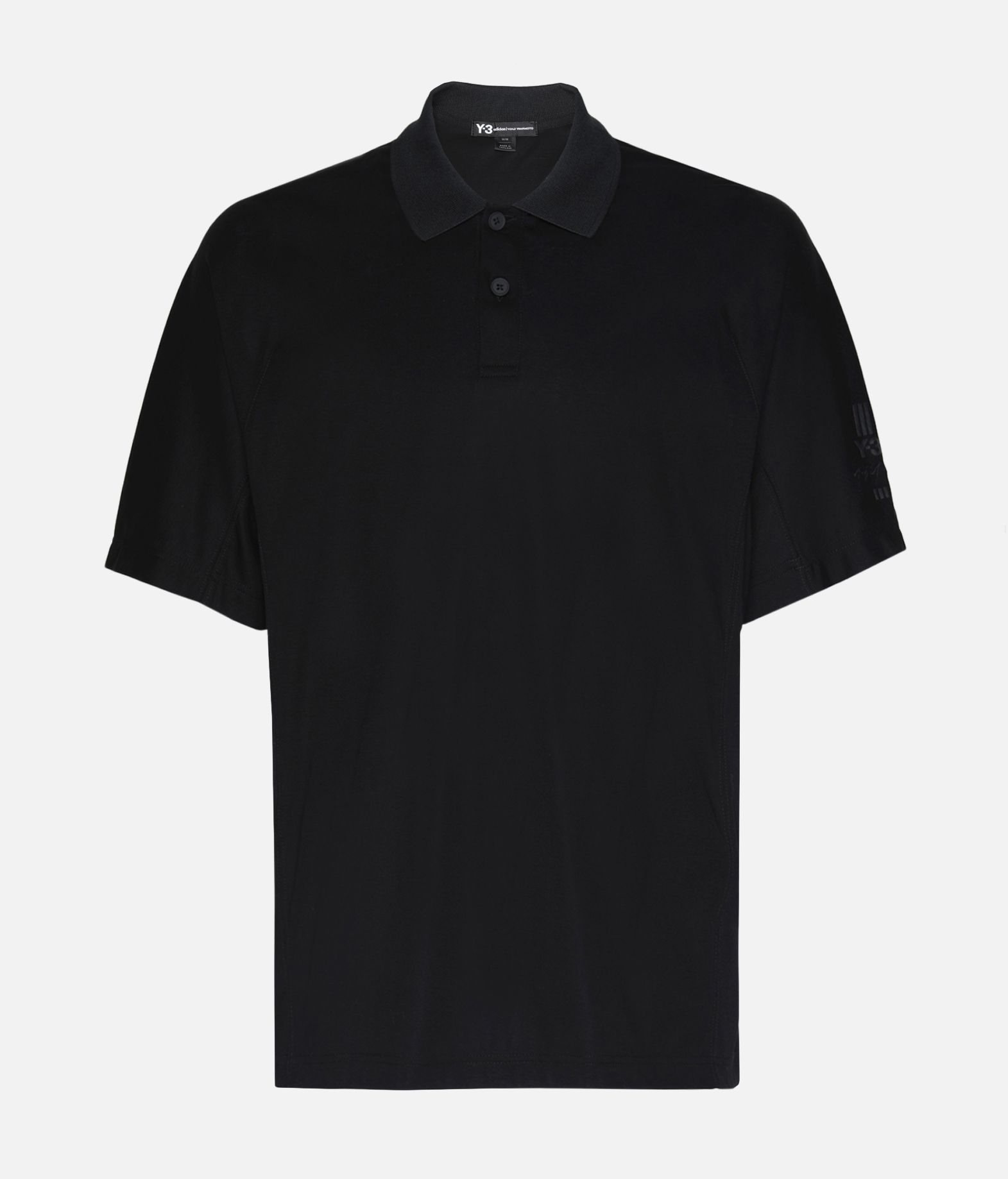 df96bfa0 Y 3 Classic Polo Shirt Polo Black | Adidas Y-3 Official Site