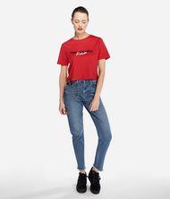 KARL LAGERFELD Karl x Kaia T-Shirt mit Cropped-Schnitt 9_f