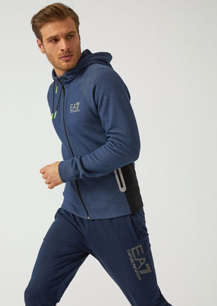 ea2b53549a Natural Ventus 7 technical fabric sweatshirt with reflective details ...
