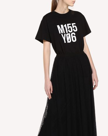 REDValentino QR0MG10D47B 0NO T-Shirt Woman d