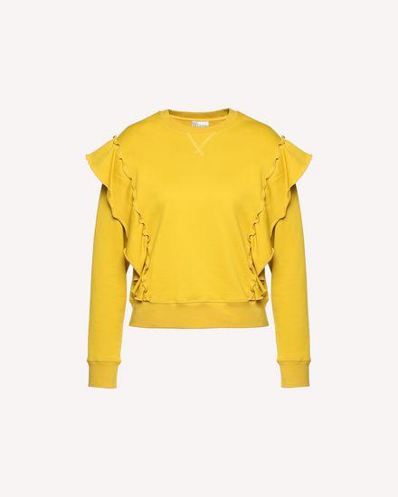 REDValentino Sweatshirt Woman QR0MF06L46Q G74 a