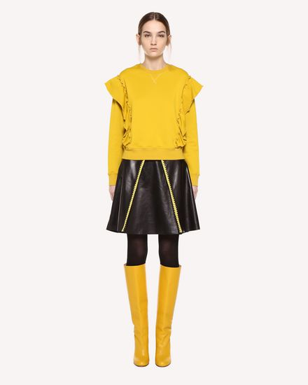 REDValentino Sweatshirt Woman QR0MF06L46Q G74 f
