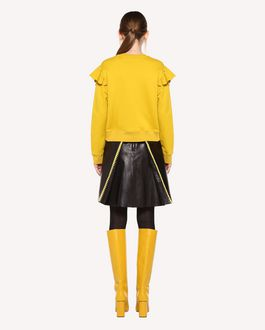 REDValentino Sweatshirt with ruffle detail