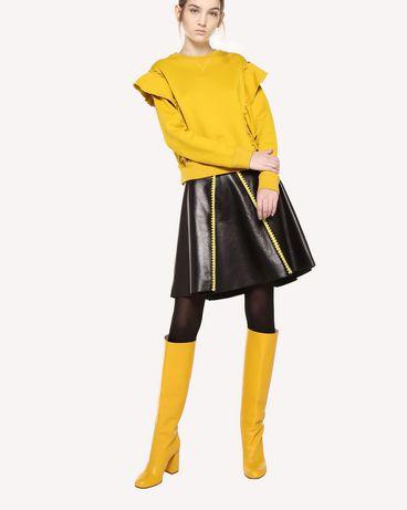 REDValentino QR0MF06L46Q G74 Sweatshirt Woman d