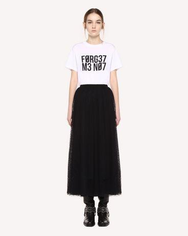 REDValentino QR0MG10F47B 0BO T-Shirt Woman f