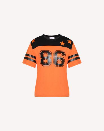 REDValentino QR0MG10C47A RR0 T-Shirt Woman a