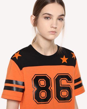 REDValentino QR0MG10C47A RR0 T-Shirt Woman e
